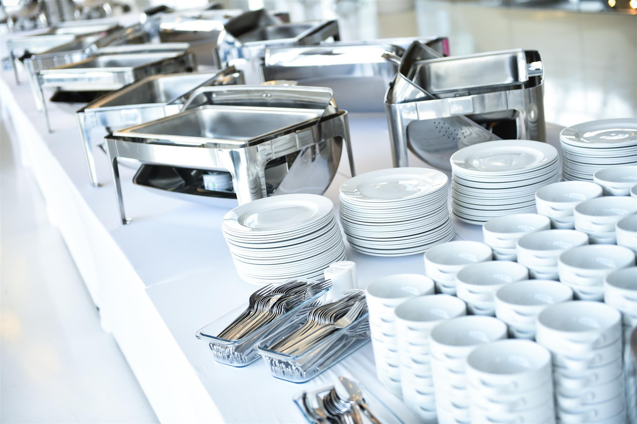 Common Catering Equipment Needed for all Types of Event